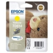 Genuine Epson T0614 Yellow Ink Cartridge (Teady Bear) for Epson DX3850