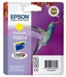 Genuine Epson T0804 Yellow Ink Cartridge (Hummingbird)