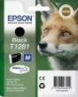Genuine Epson T1281 Black Ink Cartridge (Fox) for Epson SX438W