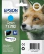 Genuine Epson T1282 Cyan Ink Cartridge (Fox) for Epson SX438W