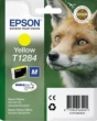 Genuine Epson T1284 Yellow Ink Cartridge (Fox) for Epson SX438W