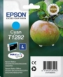 Genuine Epson T1292 Cyan Ink Cartridge (Apple) for Epson BX525WD