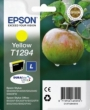 Genuine Epson T1294 Yellow Ink Cartridge (Apple) for Epson BX525WD