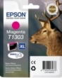 Genuine Epson T1303 Magenta Ink Cartridge (Stag) for Epson SX525WD