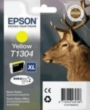 Genuine Epson T1304 Yellow Ink Cartridge (Stag) for Epson WF-3540DTWF