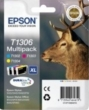 Genuine Epson T306 Multipack Ink Cartridges (Stag) for Epson WF-7525