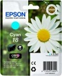 Genuine Epson T1802 Cyan Ink Cartridge (Daisy) for Epson XP-425