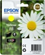 Genuine Epson T1804 Yellow Ink Cartridge (Daisy) for Epson XP-325