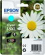 Genuine Epson T1812 Cyan Ink Cartridge 18XL (Daisy) for Epson XP-425