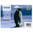 Genuine Epson T5597 Multipack Ink Cartridges (Penguin) for Epson RX700