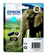 Genuine Epson T2422 Cyan Ink Cartridge (Elephant)