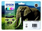 Genuine Epson T2428 Multipack Ink Cartridges (Elephant) for Epson XP-750