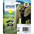 Genuine Epson T2424 Yellow Ink Cartridge (Elephant)