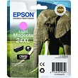 Genuine Epson T2436 Light Magenta Ink Cartridge 24XL (Elephant) for Epson XP-750
