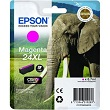 Genuine Epson T2433 Magenta Ink Cartridge 24XL (Elephant) for Epson XP-750
