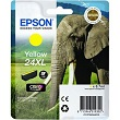 Genuine Epson T2434 Yellow Ink Cartridge 24XL (Elephant)