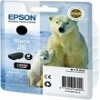 Genuine Epson T2621 Black Ink Cartridge 26XL (Polar Bear) for Epson XP-520