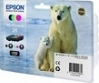 Genuine Epson T2616 Multipack Ink Cartridges (Polar Bear) for Epson XP-520