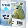 Genuine Epson T2632 Cyan Ink Cartridge 26XL (Polar Bear) for Epson XP-520
