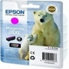 Genuine Epson T2633 Magenta Ink Cartridge 26XL (Polar Bear) for Epson XP-520