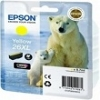 Genuine Epson T2634 Yellow Ink Cartridge 26XL (Polar Bear) for Epson XP-520