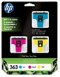 Genuine HP-363 3 Cartridge Photo Value Pack (CB333EE)