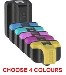 HP-363 Compatible Ink Cartridges - Mix and Match 4 Cartridge Set HP 363 for HP Photosmart 7468