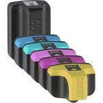 HP-363 Compatible Ink Cartridges - 1 Full 6 Cartridge Set HP 363 for HP Photosmart D7168