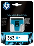 Genuine HP-363 Cyan Ink Cartridge (C8771EE) for HP Photosmart 7468