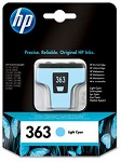 Genuine HP-363 Light Cyan Ink Cartridge (C8774EE) for HP Photosmart D7168