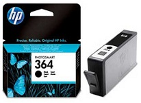 Genuine HP-364 Black Ink Cartridge (CB316EE) for HP Photosmart Premium Fax C309a