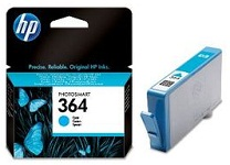 Genuine HP-364 Cyan Ink Cartridge (CB318EE) for HP Photosmart Premium Fax C309a