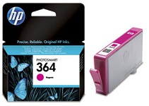 Genuine HP-364 Magenta Ink Cartridge (CB319EE) for HP Photosmart Premium Fax C309a