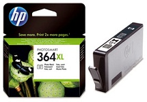 Genuine HP-364 Photo Black Ink Cartridge (CB317EE) for HP Photosmart B8558