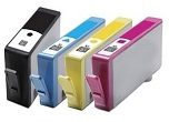 1 x 4 Cartridge Multipack Compatible with HP 364XL (Shows ink levels)