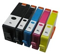 HP 364XL Compatible Ink Cartridges - 1 Full 5 Cartridge Multipack Set 364XL for HP Photosmart B8558