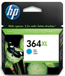 Genuine HP-364XL Cyan Ink Cartridge (CB323EE) for HP Photosmart Premium Fax C309a
