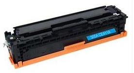 Reman HP 305A Cyan (CE411A) Toner Cartridges for HP LaserJet Pro 300 Color MFP M375nw