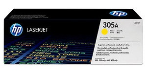 Genuine HP 305A (CE412A) Yellow Toner Cartridges for HP LaserJet Pro 400 Color M451dn