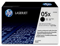 Genuine HP 05X (CE505X) High Capacity Black Toner Cartridges for HP LaserJet P2050