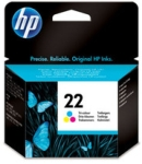 Genuine HP-22 Colour Ink Cartridge (C9352AE) for HP DeskJet D1430
