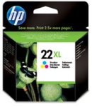 Genuine High Capacity  HP-22XL Colour Ink Cartridge (C9352CE) for HP DeskJet D1430