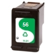 Remanufactured HP-56 Black High Capacity Ink Cartridge for HP PSC 2179