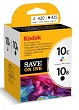 Genuine Kodak 10B 10C Multipack Ink Cartridges for Kodak Hero 6.1