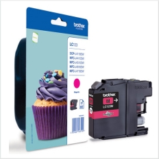 Genuine Brother LC123M Magenta Ink Cartridge for Brother DCP-J132W