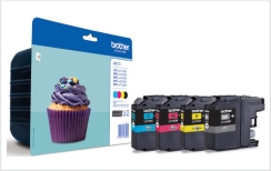 Genuine Brother LC123 Multipack Ink Cartridges ( LC123VALBP) for Brother DCP-J752DW