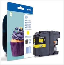 Genuine Brother LC123Y Yellow Ink Cartridge for Brother DCP-J132W