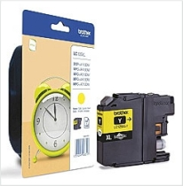 Genuine Brother LC125XLY High Capacity Yellow Ink Cartridge for Brother MFC-J6720DW