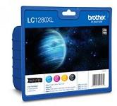 Genuine Brother LC1280XLVALBP Full Set Multipack Ink Cartridges for Brother MFC-J6710DW