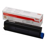 Genuine High Cpacity Oki 43979202 Black Toner Cartridges